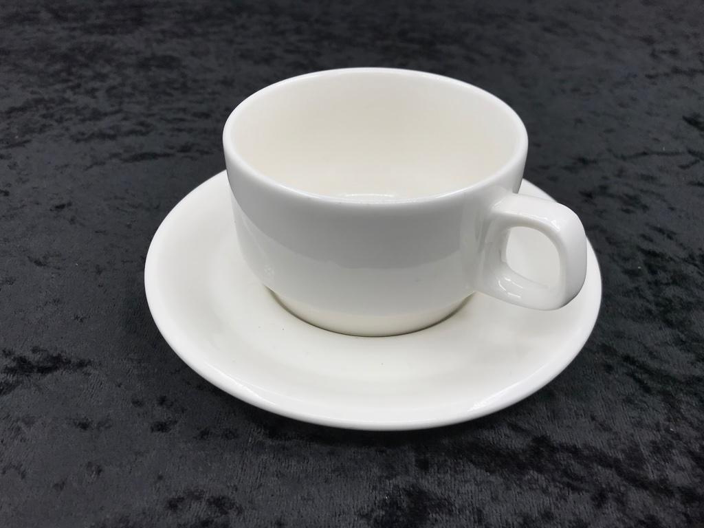 陶瓷咖啡杯+盤