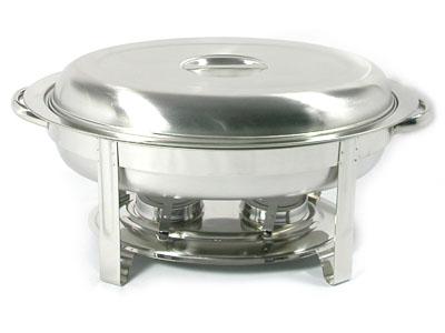 隨餐-橢圓保溫鍋 (蓋子/外鍋/鍋架/酒精杯*2) (點火槍+冷水壺)*1