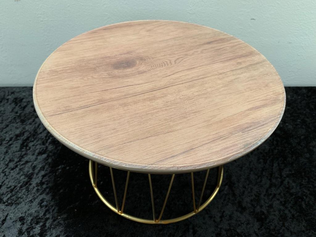 仿木紋盤-圓(不含層架)